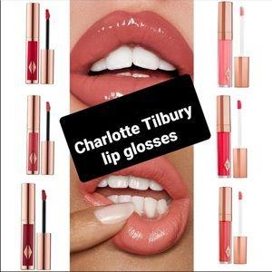 10 Charlotte Tilbury Lip Glosses/ Liquid Lipsticks